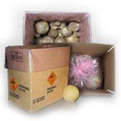 hazardous material packaging - fireworks packaging