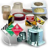 hazardous material packaging - accessories