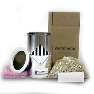 Hazardous Material Packaging - Small UN Rated Overpack