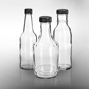 glass sauce bottle packaging