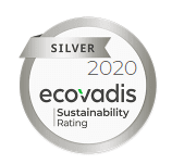 Ecovadis Silver Level Award Winner